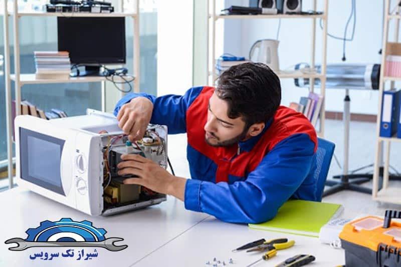 متداول ترین ایرادات مشاهده شده در نمایندگی تعمیرات مایکروفر در شیراز